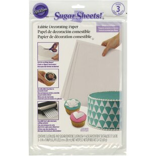 3 Piece Sugar Sheets Set