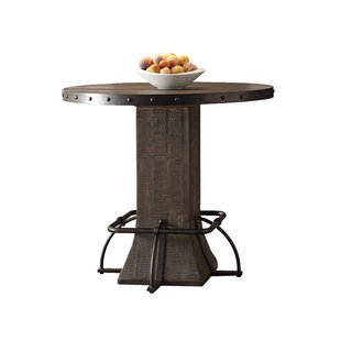 Gracie Oaks Cathie Round Counter Height Dining Table