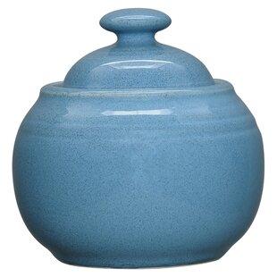 Colorvara 13 Oz. Sugar Bowl with Lid