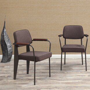 Affordable Barragan Upholstered Dining Chair (Set of 2) by Wrought Studio Reviews (2019) & Buyer's Guide