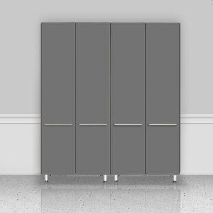 Garage 80 H x 71 W x 21 D 2 Piece Storage Cabinet Set by Ulti-MATE