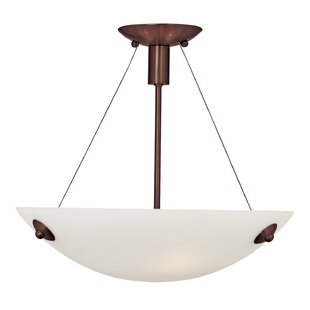 Latitude Run Ternate 3-Light Bowl Pendant