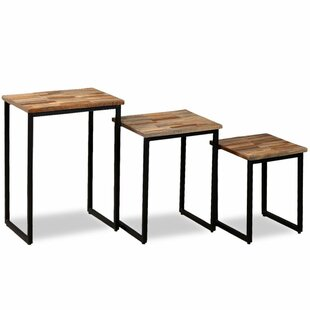 Craven 3 Piece Coffee Table Set By Borough Wharf