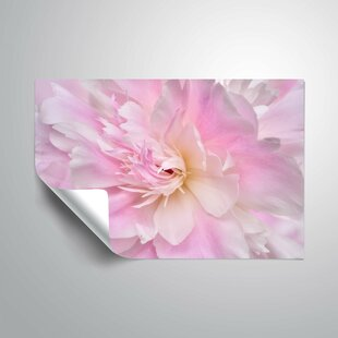 16 by 24 ArtWall Kathy Yates Maui Pink Hibiscus Appeelz Removable Graphic Wall Art
