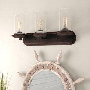 Beachcrest Home Sorrell 3-Light Vanity Light