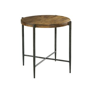 Bolanos Metal and Wood End Table