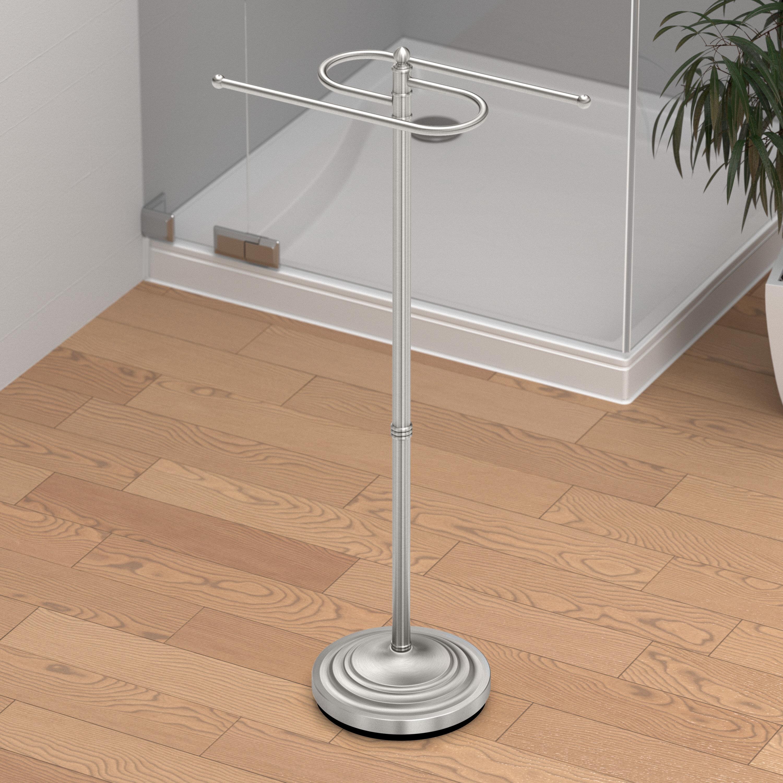 Free Standing Floor S Towel Holder