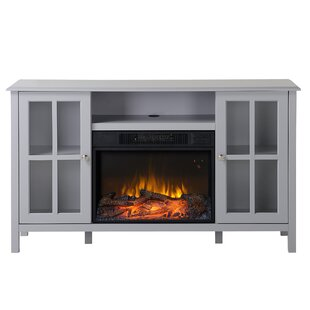 Langley 55.5 TV Stand with Fireplace by Homestar