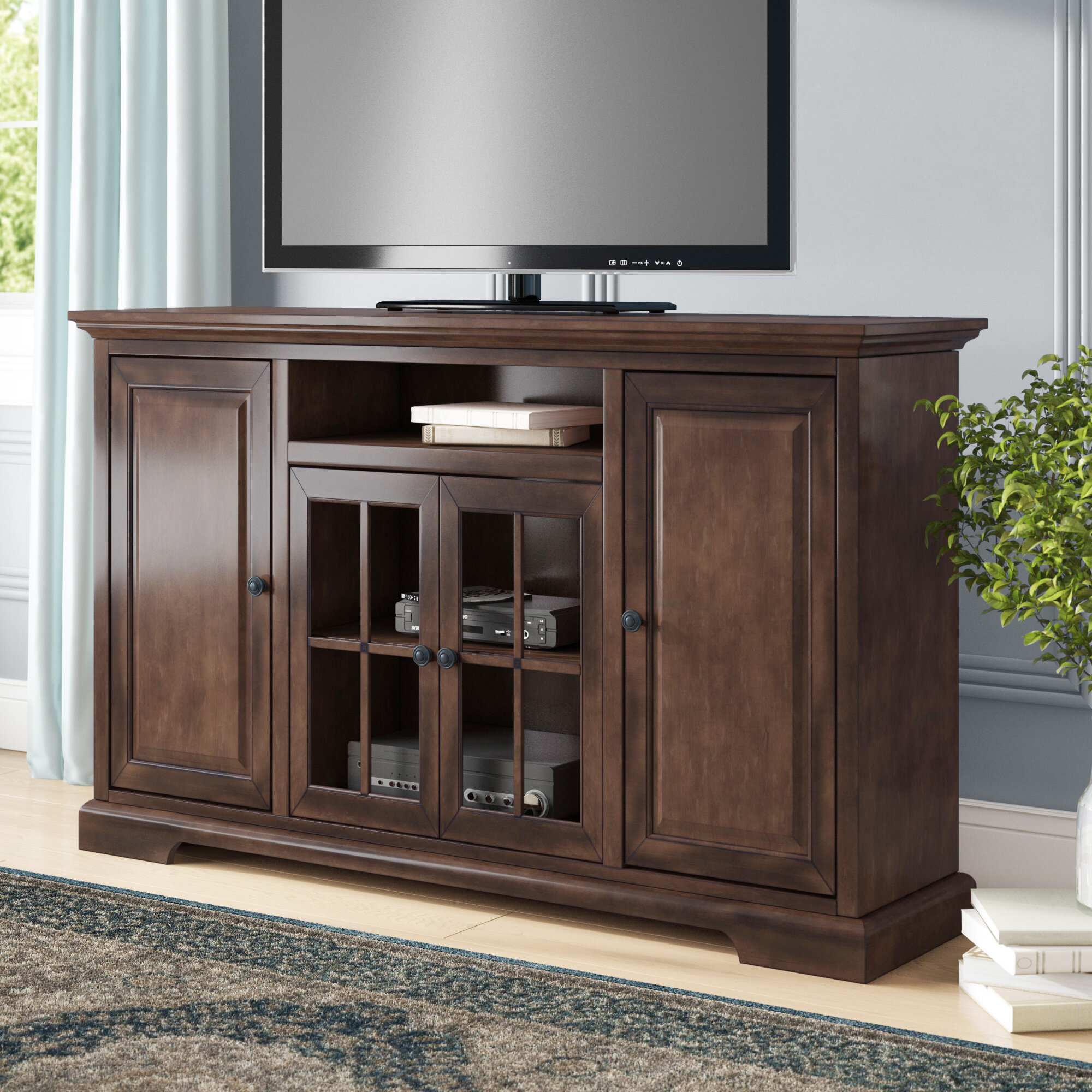 Darby Home Co Legrand Tv Stand For Tvs Up To 70 Reviews Wayfair