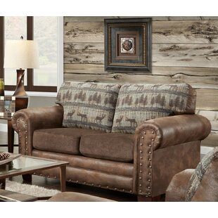 Deer Lodge Loveseat by American Furniture Classics New