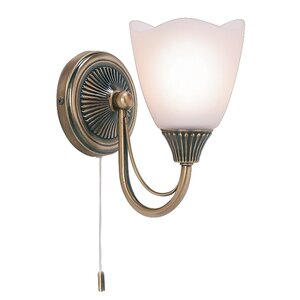 Martino 1 Light Semi Flush Wall Light
