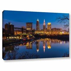 Cleveland Skyline Canvas Wayfair