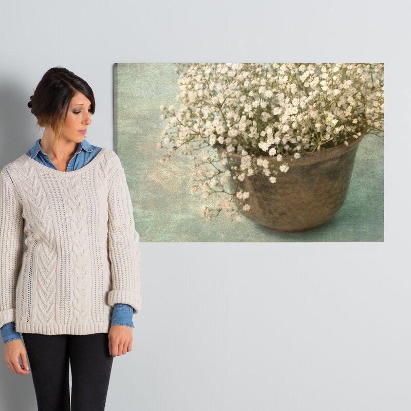 422890caa55c8 'Irish Pot with Lace' Graphic Art Print & Reviews | Joss & Main