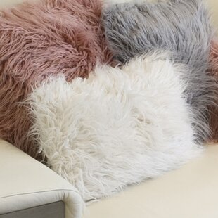 Frisco Faux Fur Lumbar Pillow