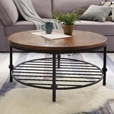 Bodiam Coffee Table with Storage by Williston Forge