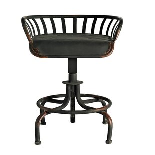 Tractor Adjustable Bar Stool By Nordal
