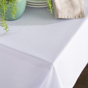 Wayfair Basics Poplin Rectangular Tablecloth