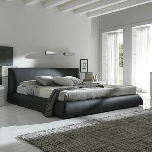 Coco Upholstered Platform Bed by Rossetto USA