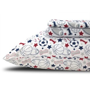 Beco Home Sports 180 Thread Count Sheet Set