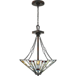 Bush 3-Light Geometric Chandelier by Loon Peak