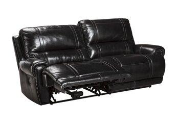 Paron Leather Reclining Sofa
