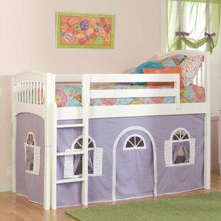 Bonneau Full Size Low Loft Tent Bed & Bed Tent Full Size | Wayfair
