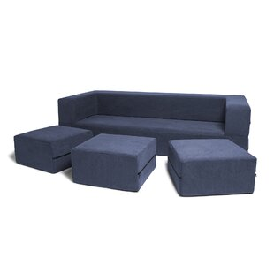 Hagerman 4 Piece Sleeper Living Room Set