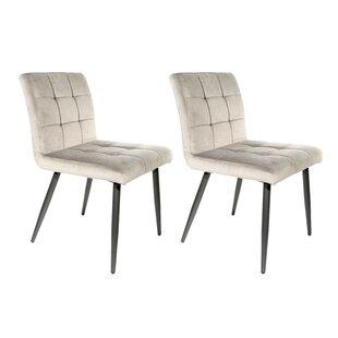 Erskine Upholstered Dining Chair (Set Of 2) By Brayden Studio