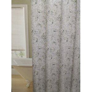 Fort Washington Leopard Swirl Shower Curtain