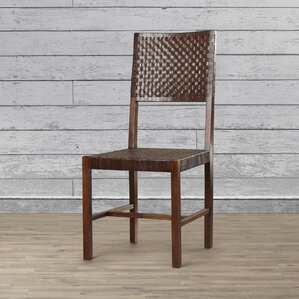 Angelica Solid Wood Dining Chair by World Menagerie