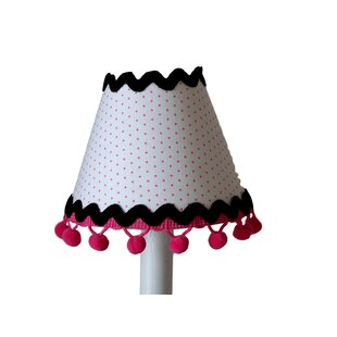 Gold polka dot lamp shade wayfair polka dot paris 11 fabric empire lamp shade aloadofball Choice Image