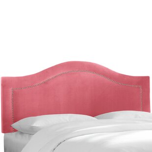 Mystere Inset Nail Button Upholstered Panel Headboard