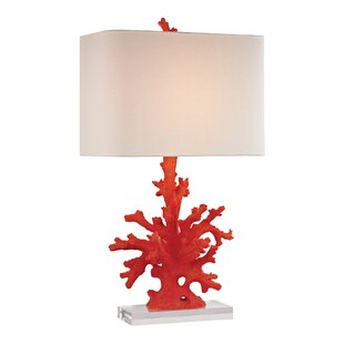 Compare Catt Coral 28 Table Lamp By Highland Dunes
