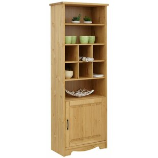 Quill Curio Cabinet By Alpen Home