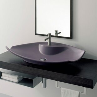 Scarabeo by Nameeks Kong Ceramic Specialty Vessel Bathroom Sink