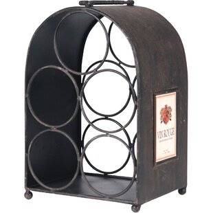5 Bottle Tabletop Wine Rack by Wilco Home
