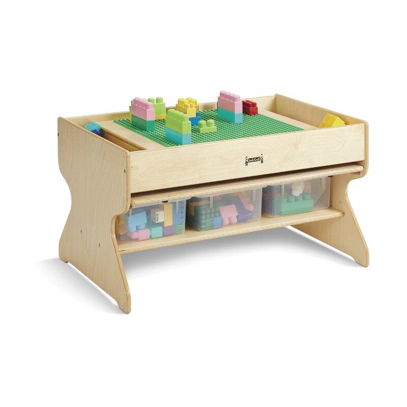 Jonti Craft Kids Rectangular Activity Table Wayfair