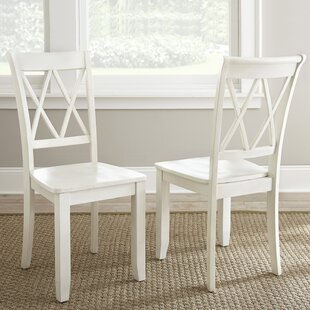 Dauberville Solid Wood Dining Chair (Set of 2) DarHome Co