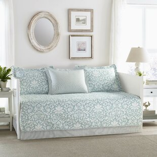 Mia 100% Cotton 5 Piece Twin Daybed Set by Laura Ashley Home