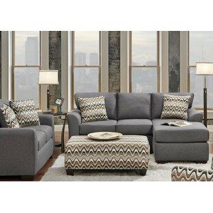 Latitude Run Krysta 3 Piece Living Room Set