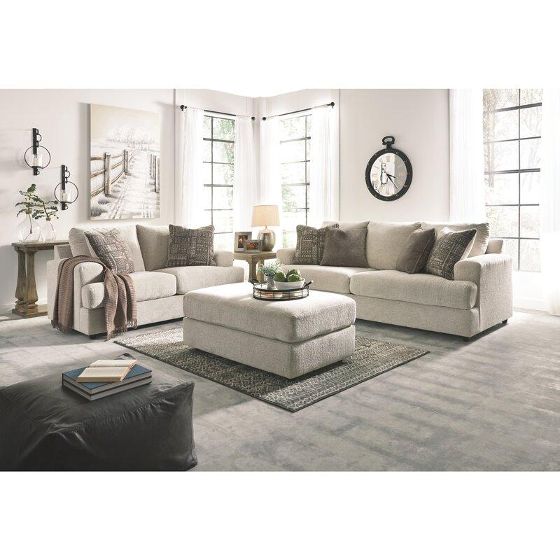 Soletren 3 Piece Configurable Living Room Set