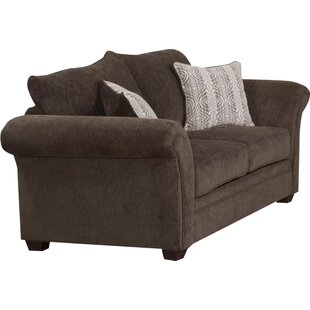 Serta Upholstery Belmont Loveseat by Three Posts