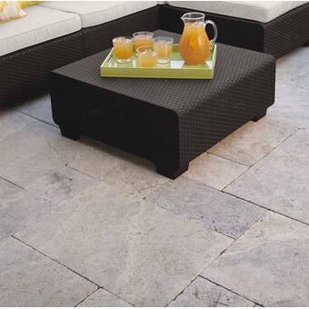Sol 72 Outdoor Tegan Ottoman With Cushion Reviews Wayfair