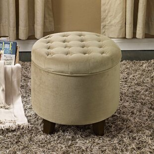 Affordable Wilfred Storage Ottoman By Three Posts