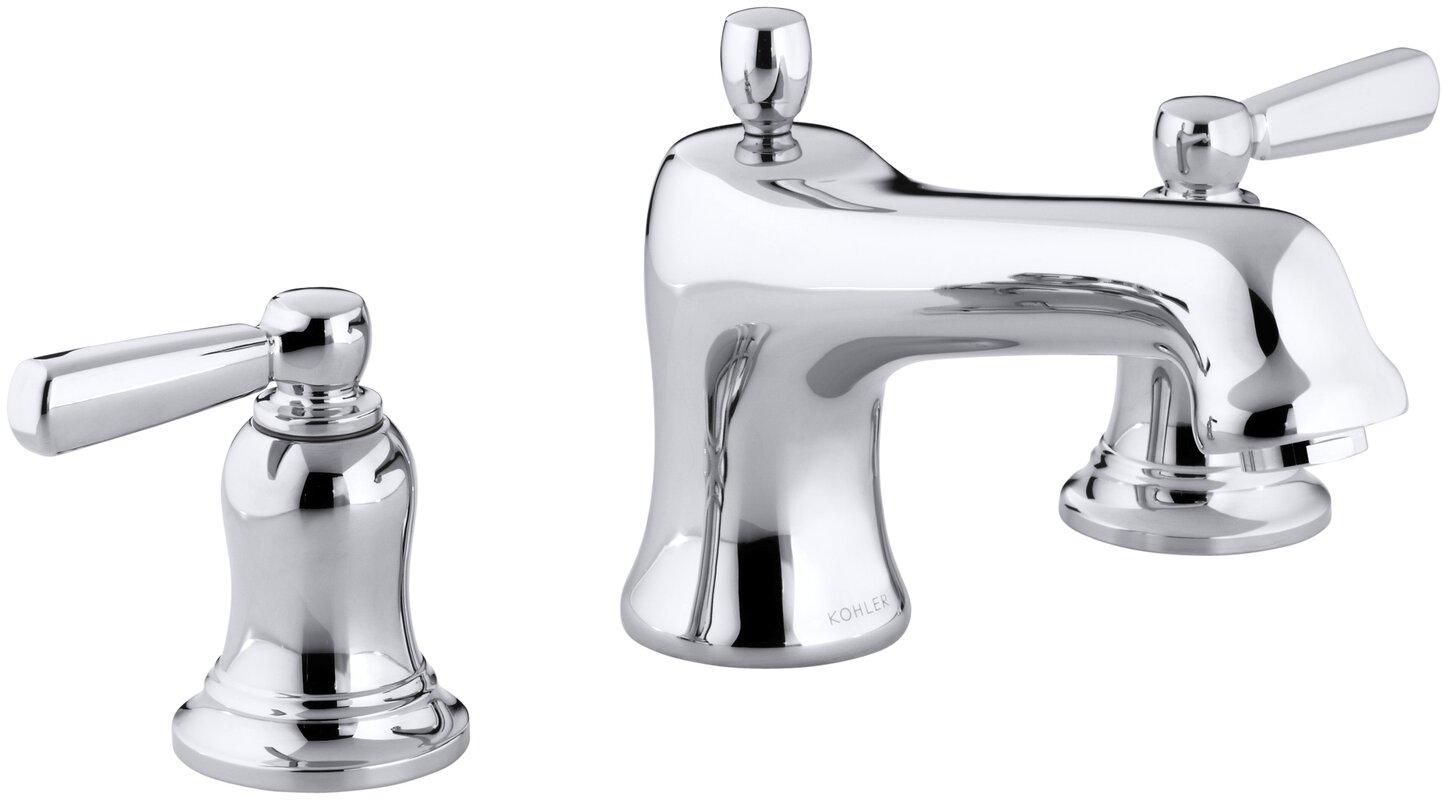Bancroft Bath Faucet Trim For Deck Mount High Flow Valve With Non Diverter