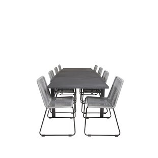 Compare Price Geir 8 Seater Dining Set
