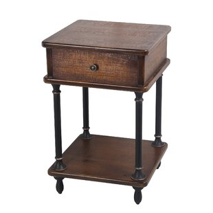 Surrency End Table by Charlton Home