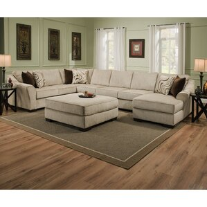 Brown Living Room Couches u-shaped sectionals you'll love | wayfair