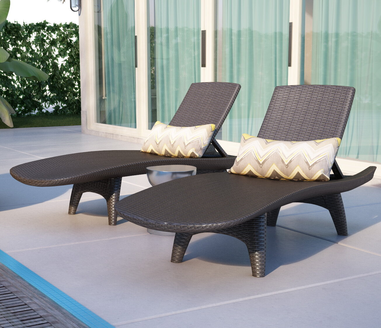 ottoman pictures chair outdoor and footstools hidden wicker patio with marvelous furniture design