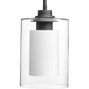 Looking for Jere Double Glass 1-Light Cylinder Pendant By Williston Forge